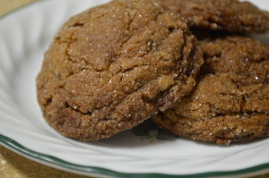 Chewy Gingerbread Cookies 2