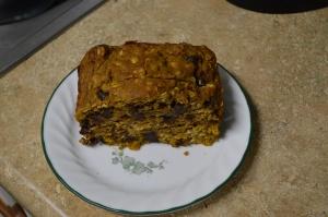 Healthy Pumpkin (Chocolate Chip) Bread