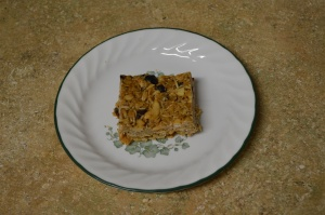 Chewy Coconut Cashew Granola Bars