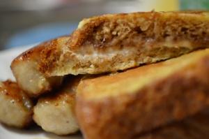 Creamy, Fruity Stuffed French Toast 2