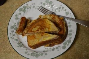 Creamy, Fruity Stuffed French Toast