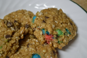 Healthy Monster Cookies 2