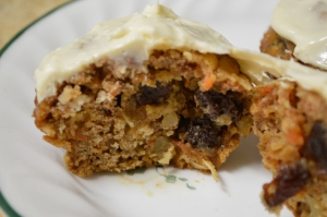 Healthy Carrot Cake Muffins 2