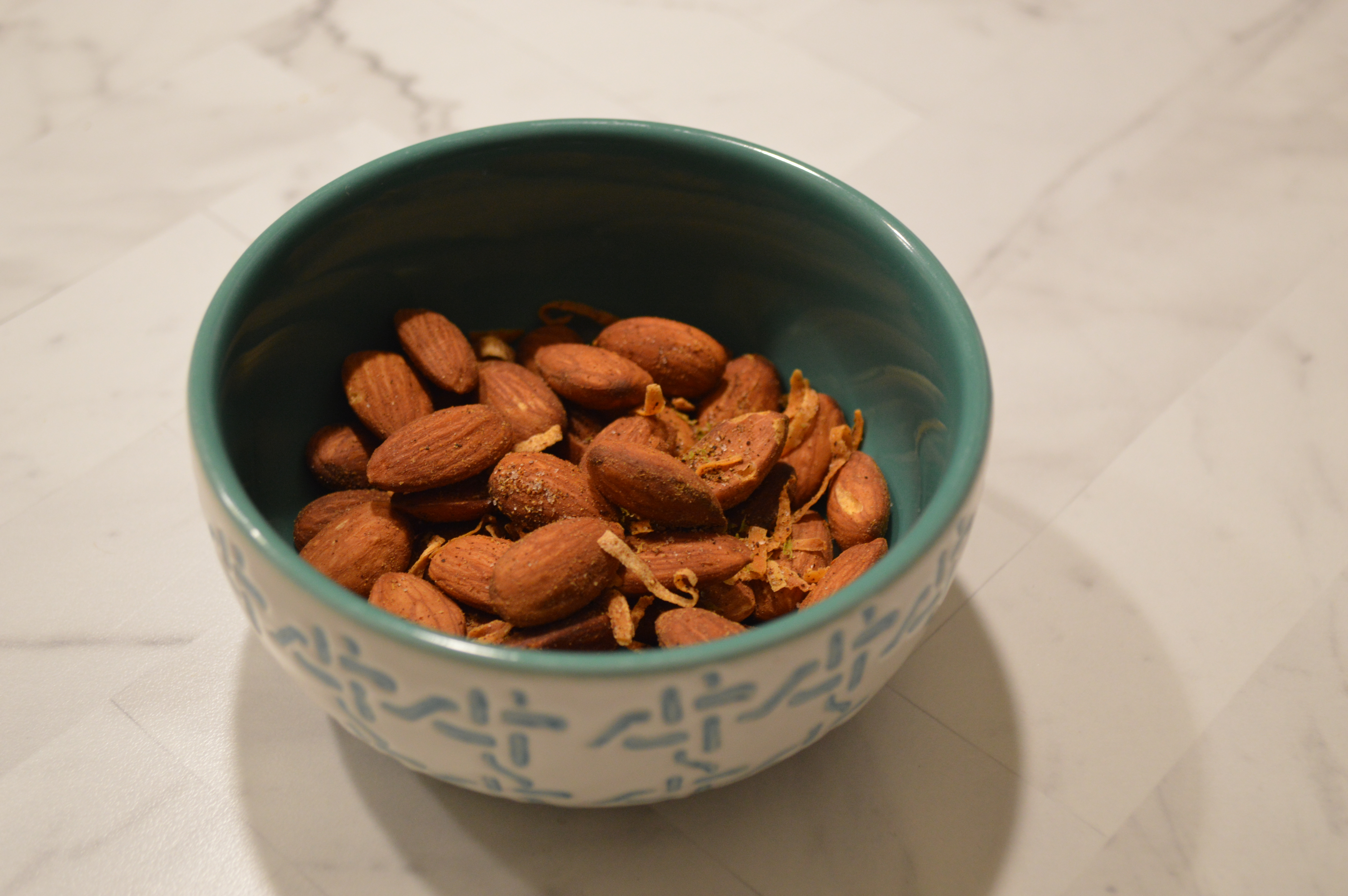 Indian Almonds with Coconut